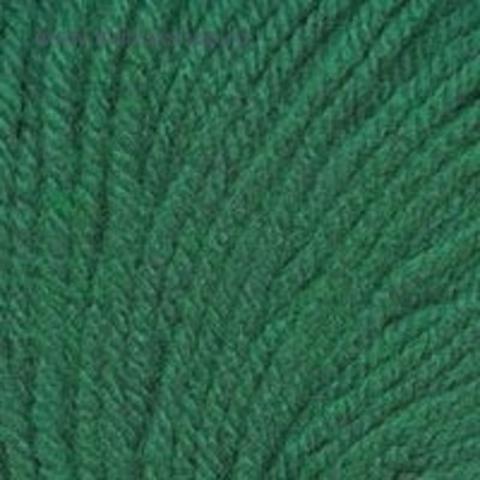 Пряжа Кроха цвет 313 Изумруд Троицкая фабрика