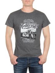 0721-5 футболка мужская, серая