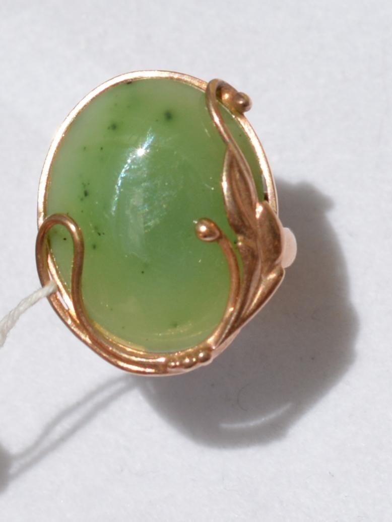 Ручная (9,96) (кольцо из серебра с позолотой)