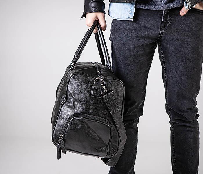 BAG551 Вместительная мужская дорожная сумка фото 02