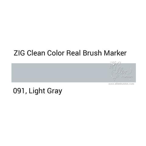 Маркер акварельный ZIG Clean Color Real Brush- штучно - 091