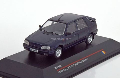Dacia Supernova Clima metallic blue 1999 IST184 IST Models 1:43