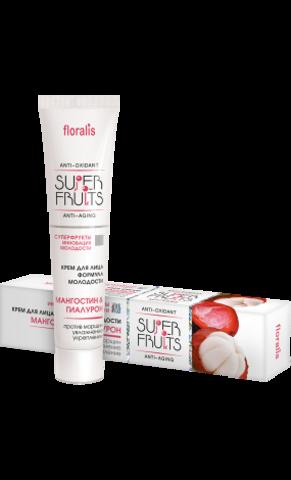 Floralis Superfruits Крем для лица формула молодости «Мангостин и Гиалурон» 40г