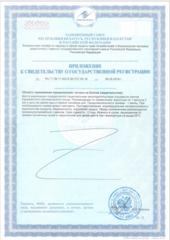 Свидетельство о государственной регистрации № RU.77.99.11.003.Е.001727.05.19 от 06.05.2019