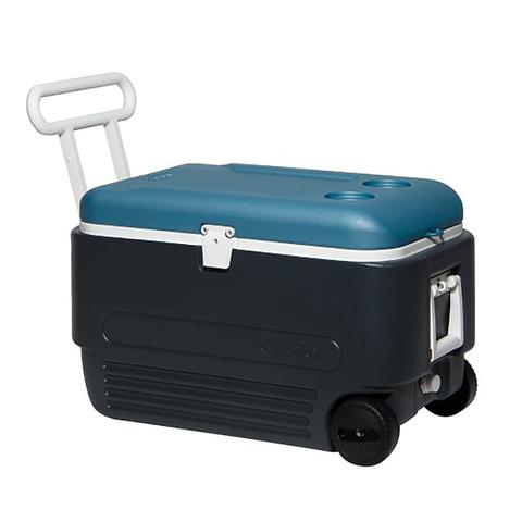 Изотермический контейнер (термобокс) Igloo Maxcold 60 Roller Jet (56 л.), черный