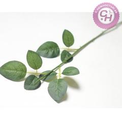 Стебель розы 9 листов, 54 см.