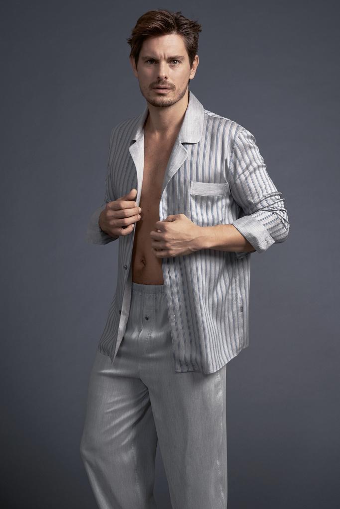 Элитная мужская пижама из вискозы Zimmerli