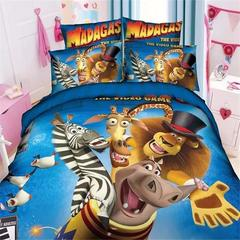 Мадагаскар постельное белье детское
