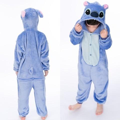 Голубой Стич детский