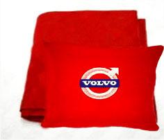Плед в чехле с логотипом Volvo