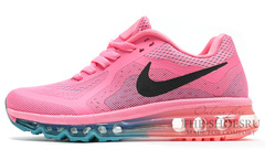 Кроссовки женские Nike Air Max 2014 Light Pink Black Turq