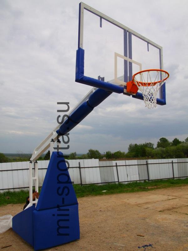 4dbd6161 Профессиональная баскетбольная стойка | Мир Спорта