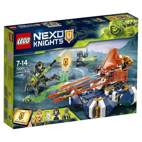 LEGO Nexo Knights: Летающая турнирная машина Ланса 72001 — Lance's Hover Jouster — Лего Нексо Рыцари