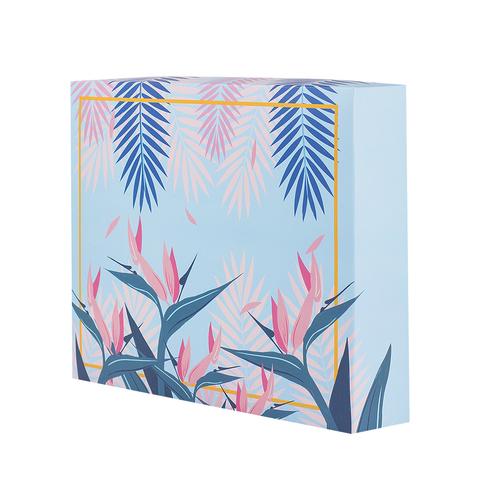 Коробка Summer Pink&Mint сборная 26х21х5 см