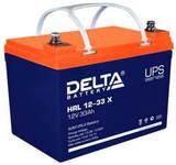 Аккумулятор Delta HRL 12-33 Х ( 12V 33  Ah / 12В 33  Ач ) - фотография