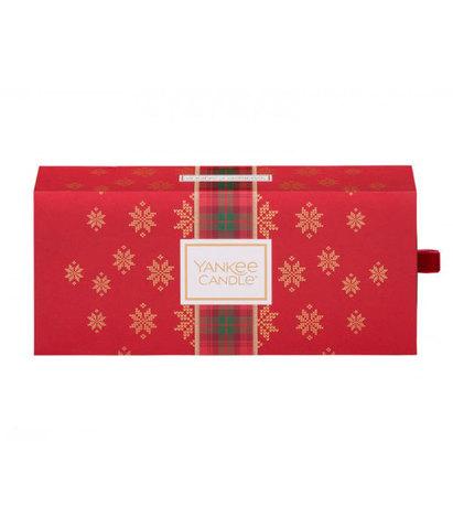 Подарочный набор 3 свечи Рождество в Альпах, Yankee Candle