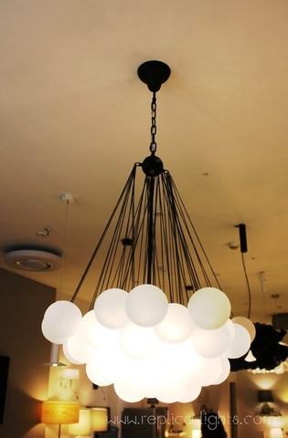 Cloud Chandelier by  Art-metal  ( black )
