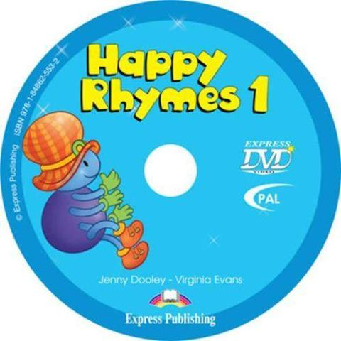Happy Rhymes 1. DVD видео. (PAL)