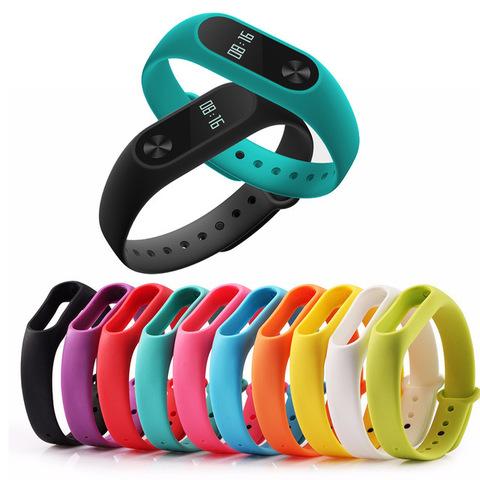 Цветные браслеты для фитнес-трекера Smart Band 2