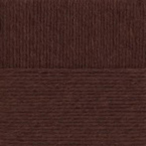 Купить Пряжа Пехорка Зимняя премьера Код цвета 017-Шоколад | Интернет-магазин пряжи «Пряха»