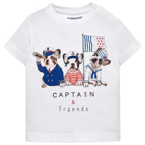 Футболка Mayoral Captain&Friends с коротким рукавом
