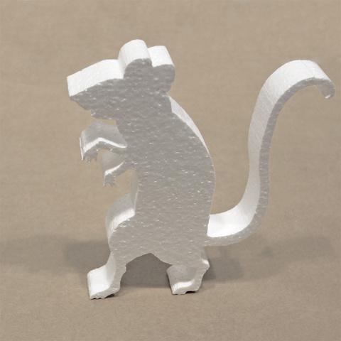Крыса из пенопласта
