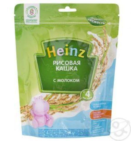 Каша Heinz рисовая с 4 мес. 250 гр. мол