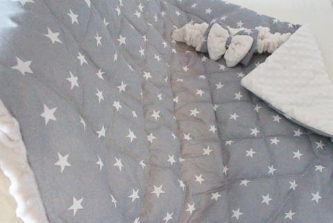 Демисезонное одеяло - конверт на выписку Звездочка