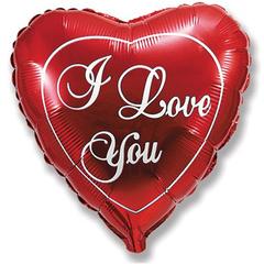 F 23 Сердце Любовь (красное), 1 шт.