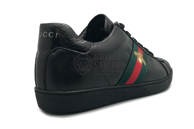 Gucci Men's Black Bee