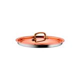 Крышка 16 см, медь, нержавеющая сталь, Gustibus, артикул 25261-16, производитель - Ruffoni