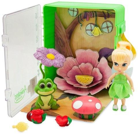 Кукла малышка Динь Динь (Tinker Bell) в чемоданчике с игрушками - Феи, Disney Animators' Collection