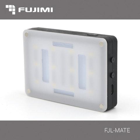 Светодиодный накамерный осветитель Fujimi FJL-MATE