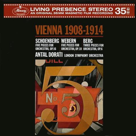 Antal Dorati / Vienna 1908-1914: Schoenberg, Webern, Berg (LP)