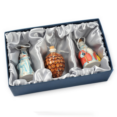 Подарочный набор мини-штофов №1 -3шт