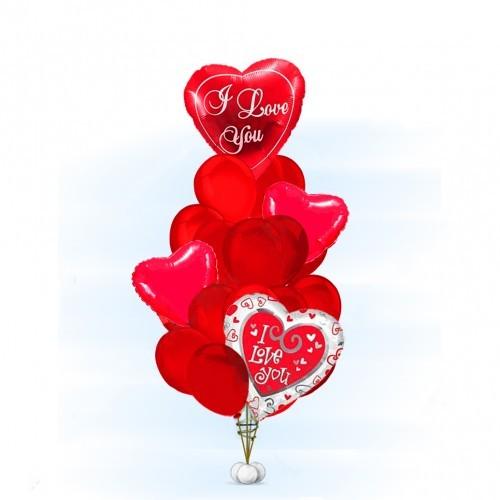 Композиции из шаров Букет Настоящая любовь. buket-nastoyashсaya-lyubov-500x500.jpg