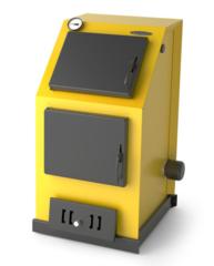 Водогрейный котел Оптимус Электро 20кВт, АРТ, ТЭН 6кВт, желтый