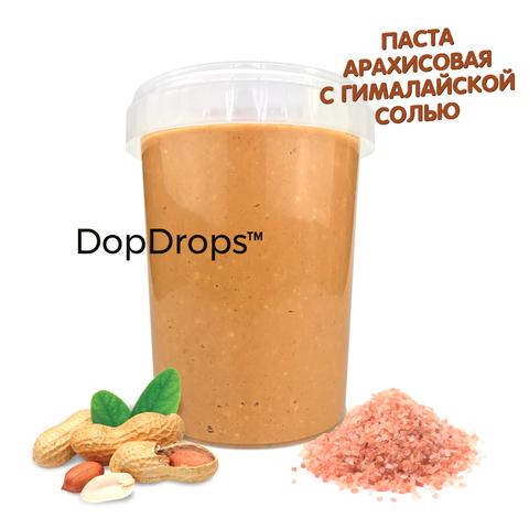 DopDrops Арахисовая Паста [Гималайская Розовая соль] 1000г, пластик