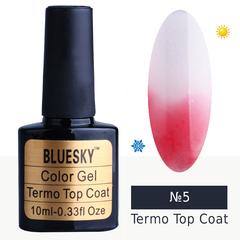 Bluesky, Гель-лак Termo top coat №05, 10 мл