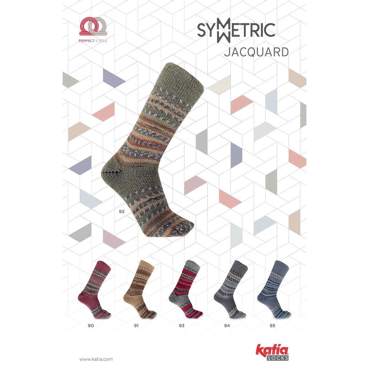 Katia Jacquard Socks-94