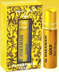Духи натуральные масляные AL HARAMAIN  GOLD / Аль-харамайн золото/ жен / 10мл / ОАЭ/ Al Haramain