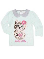 GKT003650 блузка детская, разноцветная