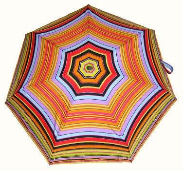 Зонт мини Guy de Jean 2002-4 à Raies orange