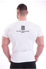 Мужская футболка Nebbia 396 white