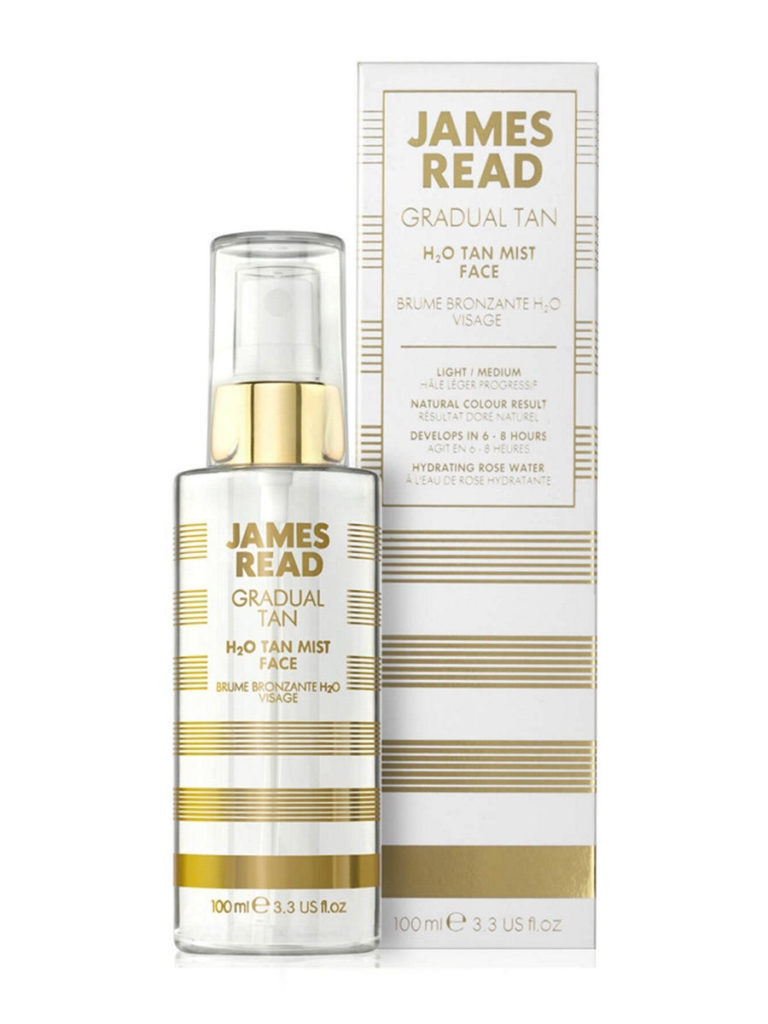 Спрей для лица - освежающее сияние H2O James Read H2O Tan Mist Face 100ml