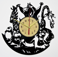 Мадагаскар Часы из Пластинки