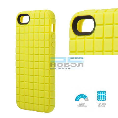 Чехол для iPhone Speck для iPhone SE / 5S Speck PixelSkin for iPhone 5 ярко-желтый SPK-A0709 Lemongrass