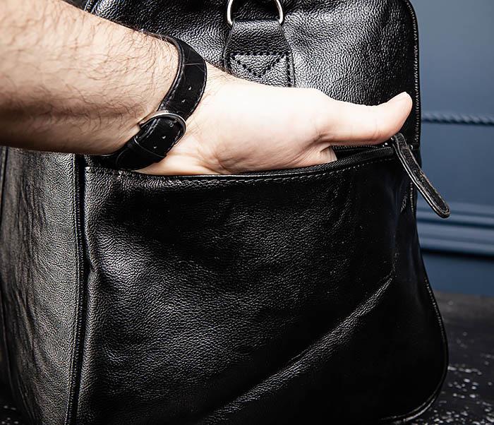 BAG551 Вместительная мужская дорожная сумка фото 11