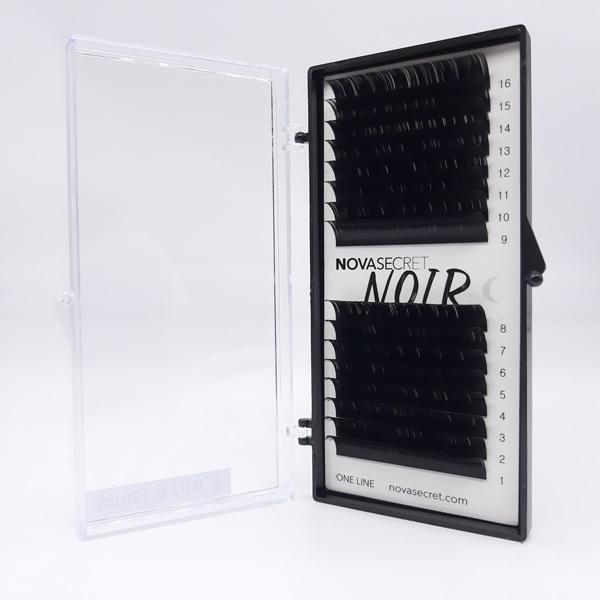 """NovaSecret Ресницы Novasecret NOIR Черные, изгиб """"С"""" Noir-С-07.jpg"""