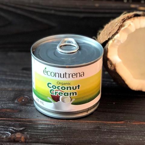 Фотография Сливки кокосовые органические